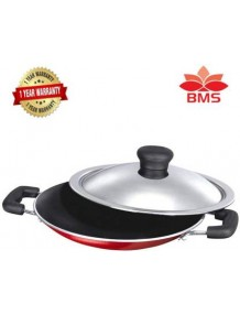 Non Stick Aluminium 7 Pot Appam with Stainless Steel Lid  - 8904243417217