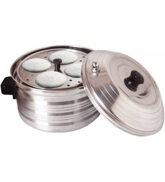 BMS Lifestyle Big 5-in-1 Induction Friendly Capsual Bottom Stainless Steel (IDLI Cooker)