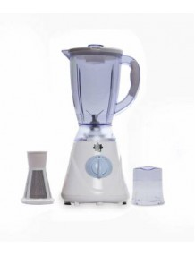 BMS Countertop Blender-MIXRE, Electric Blender/Food Processor with 550W Base, 1800 ml BPA FREE Jar, Variable Speed Control for Smoothies, Shakes and Frozen Drinks