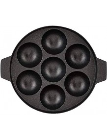 BMS Lifestyle Non-Stick 7 Cavity Appam Patra Without Lid, 17cm